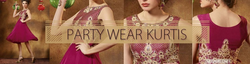 Party Wear Kurtis