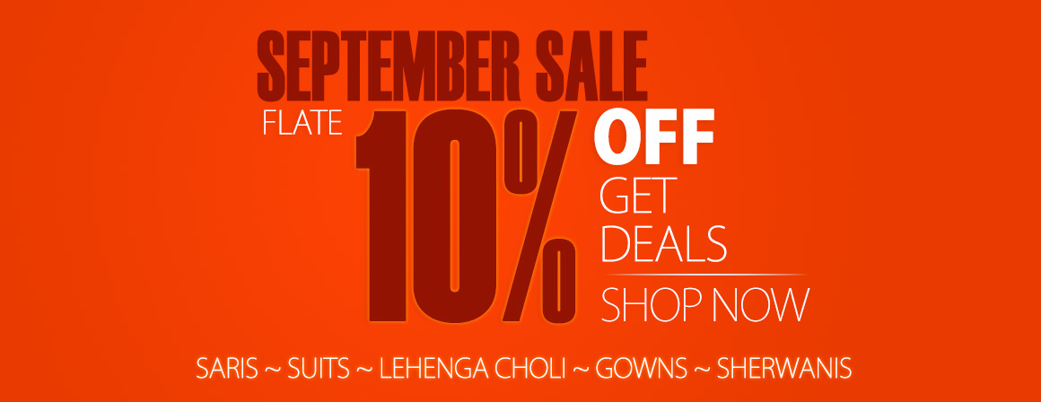 September Monthly Sale